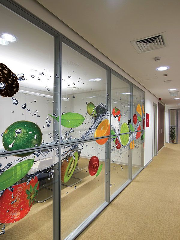 chicago commercial decorative window film contractor