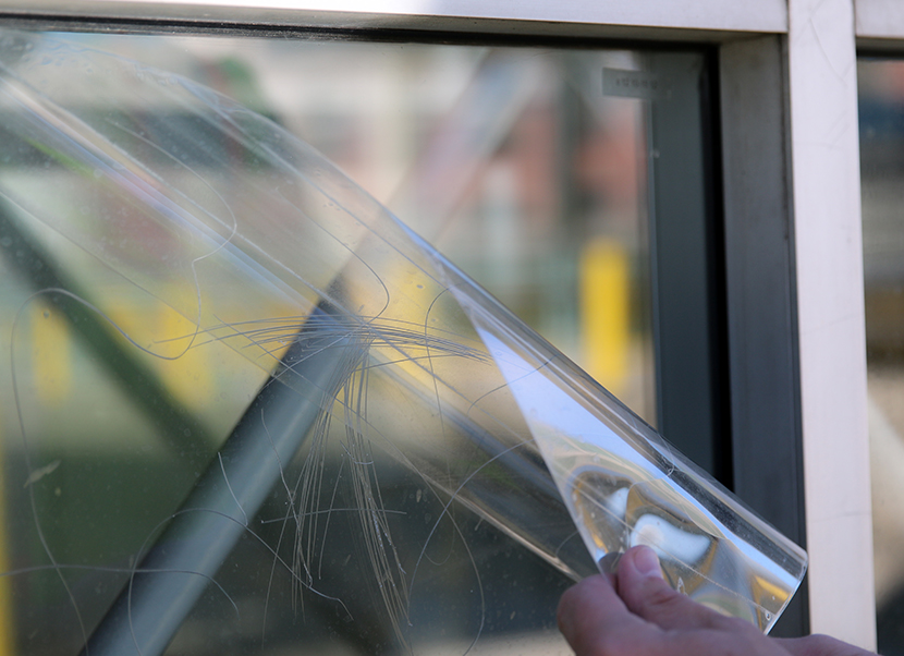 graffiti shield glass anti graffiti window film chicago