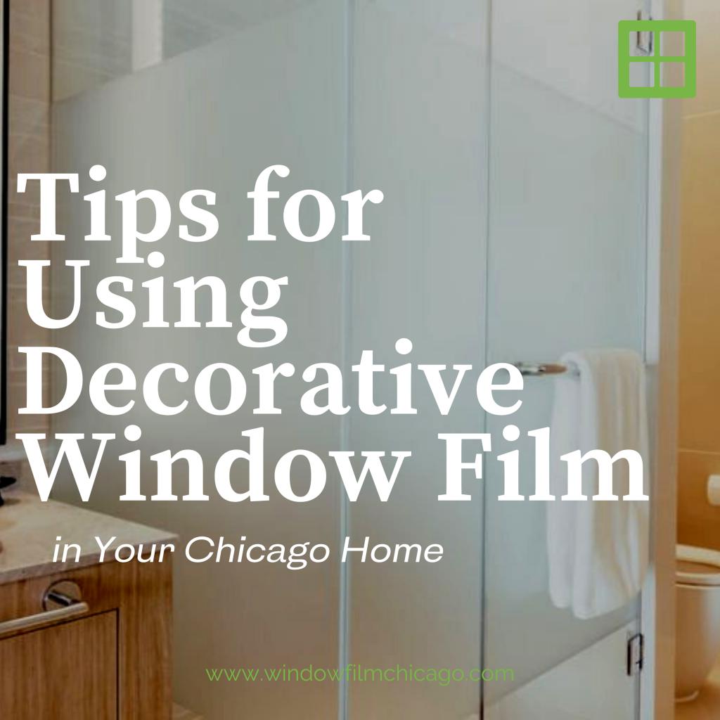 decorative window film chicago